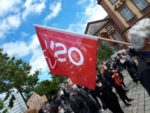 BLM-Kundgebung am 06. Juni 2020 in Mannheim (Foto: A.D.)