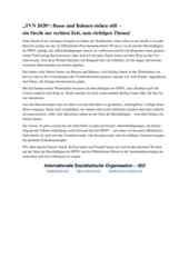 ISO-Solidaritaetserklaerung mit streikenden Bus- und Bahnfahrer-innen