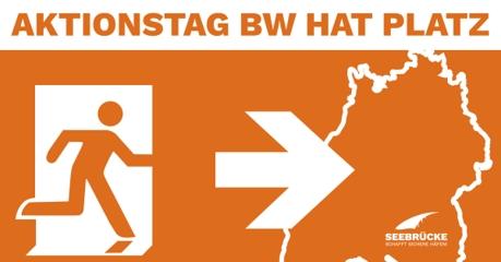 Seebrücke-Aktionstag in Baden-Württemberg am 02.10.20