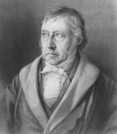 G. F. W. Hegel (Stahlstich von L. Sichling, nach L. Sebbers; Bild: Gemeinfrei)