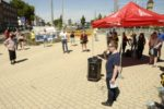 IGM-Kundgebung gegen Produktionsschliessung bei Isodraht am 30. Juli 2020 (Foto: helmut-roos@web.de)