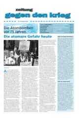 Zeitung gegen den Krieg Nr. 47 Herbst 2020