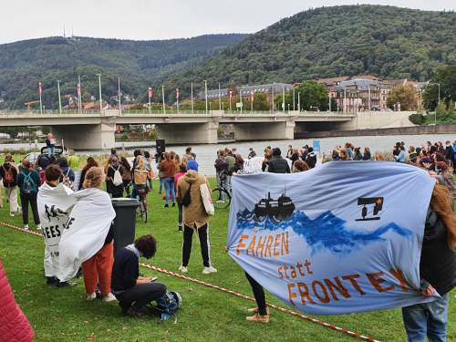 Demo Seebrücke am 02. Oktober 2020 in Heidelberg (Foto:Privat)