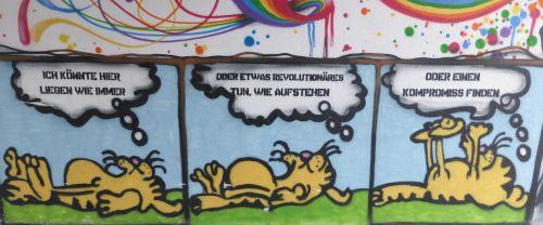 Wandmalerei in Chemnitz, 26 Februar 2017 (Foto. Avanti²)