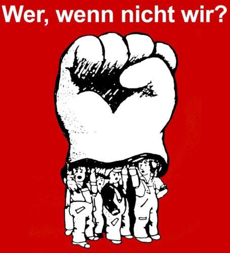 Wer wenn nicht wir? Logo