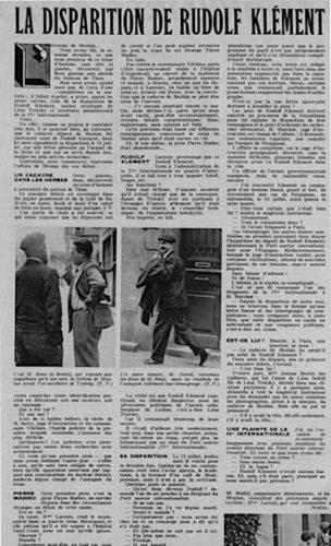 Das französische Police Magazin berichtete über die Ermordung R. Klements (Foto: Privatarchiv)