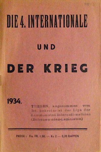 Von der IKD 1934 herausgegebene Broschüre (Foto: Privatarchiv)