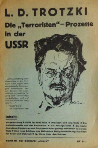 """Von der """"Jiskra"""" (Organ der Internationalen Kommunisten der ČSR) 1936 herausgegebene Broschüre (Foto: Privatarchiv)"""