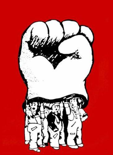 Plakat: Zusammen kämpfen