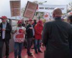 Protest gegen Abbau bei Freudenberg in Weinheim, 27. April 2017 (Foto: Avanit²)