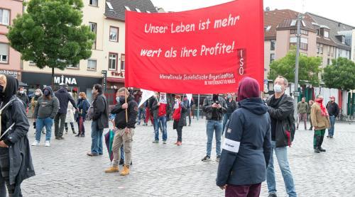 1. Mai 2020 in Mannheim (Foto: Barbara Straube)