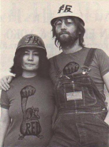 John und Yoko Anfang der 1970er Jahre (Foto: Red Mole, Tariq Ali)