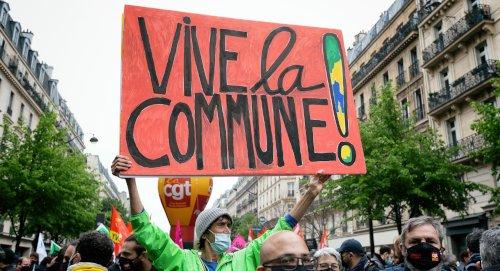 Demo am 1. Mai 2021 in Paris ( Copyright Photothèque Rouge / Martin Noda / Hans Lucas)