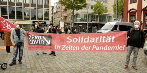 DGB-Kundgebung am 1. Mai 2021 in Mannheim (Foto:Foto: helmut-roos@web.de)