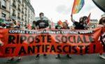 Block der NPA auf der Pariser Demo gegen Faschismus, 12. Juni 2021 (Foto:Copyright Photothèque Rouge / Martin Noda / Hans Lucas)
