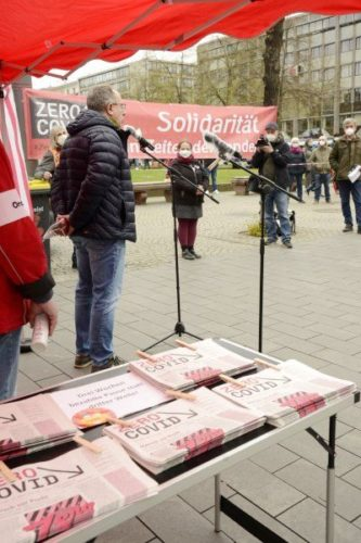 Aktionstag ZeroCovid in Mannheim, 10. April 2021 (Foto:helmut-roos@web.de)