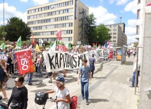 FFF-Demo in Aachen, 21. Juni 2019 (Foto:Avanti²)